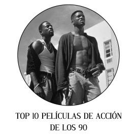 Top 10 películas de acción de los 90