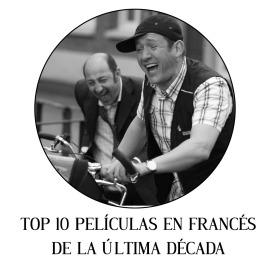 Top 10 películas en francés de la última década