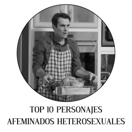 Top 10 personajes afeminados heterosexuales