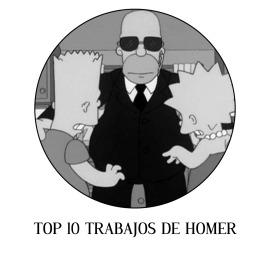 Top 10 trabajos de Homer